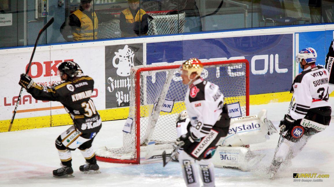 Joonas Komulainen, 1 - 0