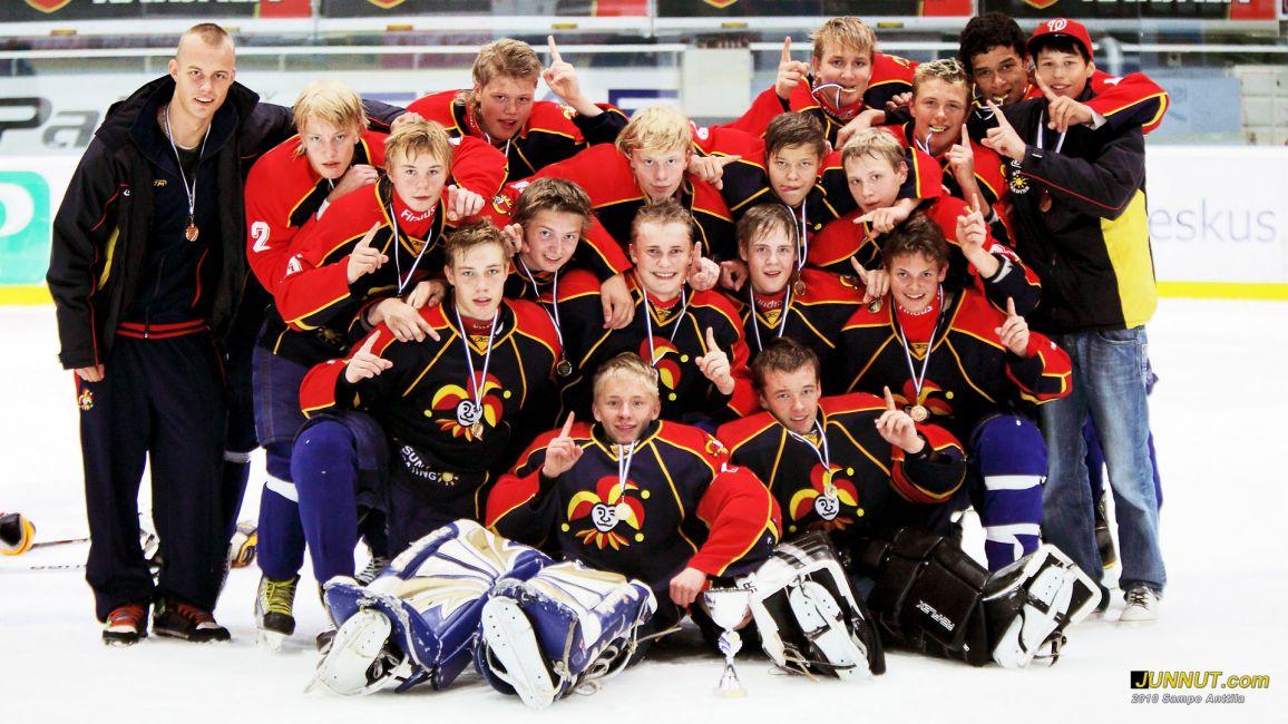 Jokerit U15 nappasi kultaa Stockmann-turnauksessa 2010