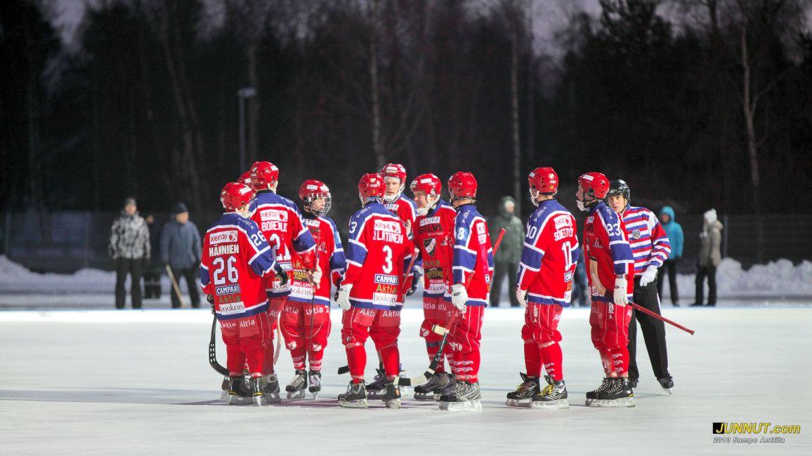 HIFK 20.11.2010 Bandyliigan avausottelu OLS - HIFK