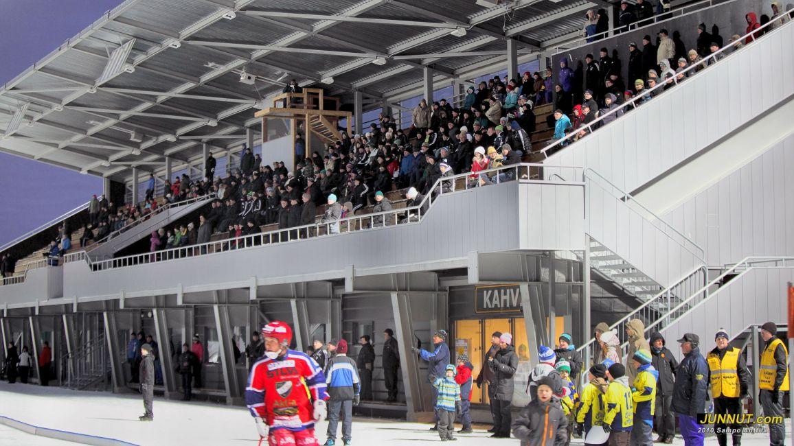 20.11.2010 OLS - HIFK, OLS:n 130 v. juhlaottelun yleisöä