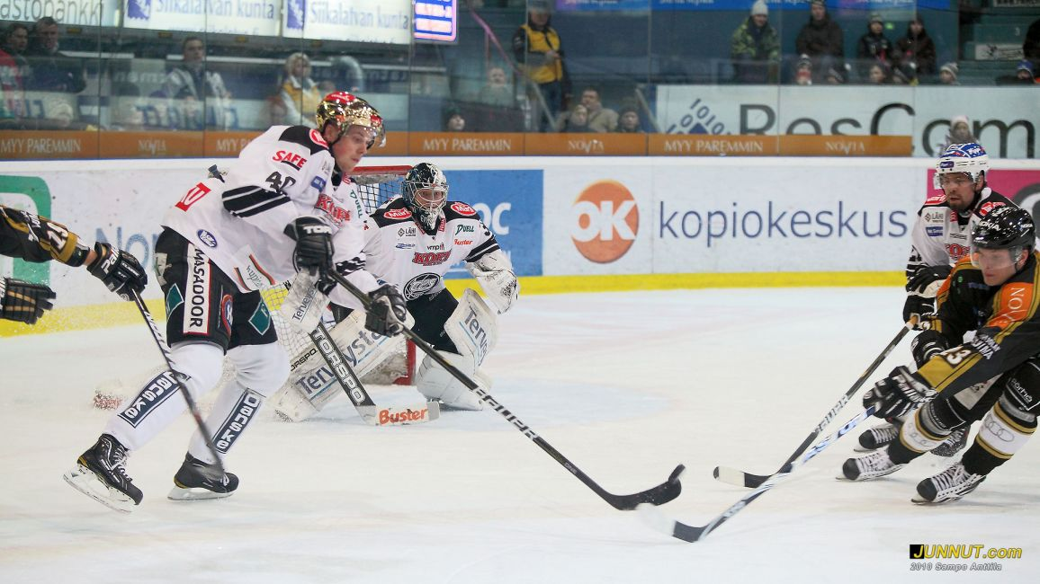 Kärpät - TPS SM-liigaottelu 4.1.2011
