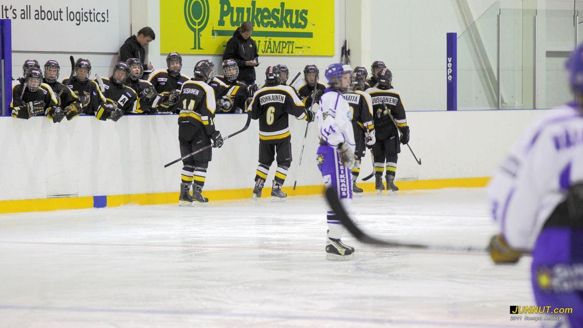 Kärpät C1 - Suomi NMJ, 15.1.2011
