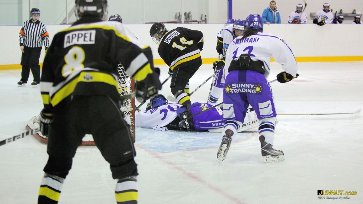 Konsta Puutio, Oulun K&auml;rp&auml;t C1-95, 15.1.2011