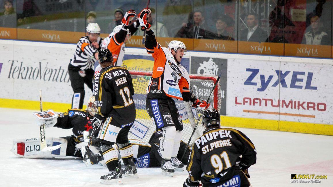 Kärpät - HPK, SM-liigaa 15.1.2011