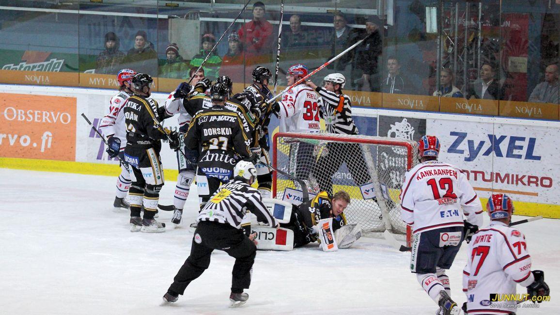 Kärpät - HIFK 25.1.2011 SM-liiga