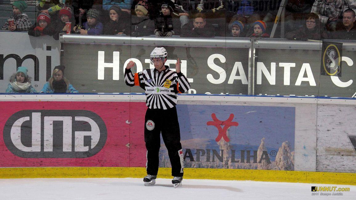 Päätuomari Jyri Rönn, 25.1.2011