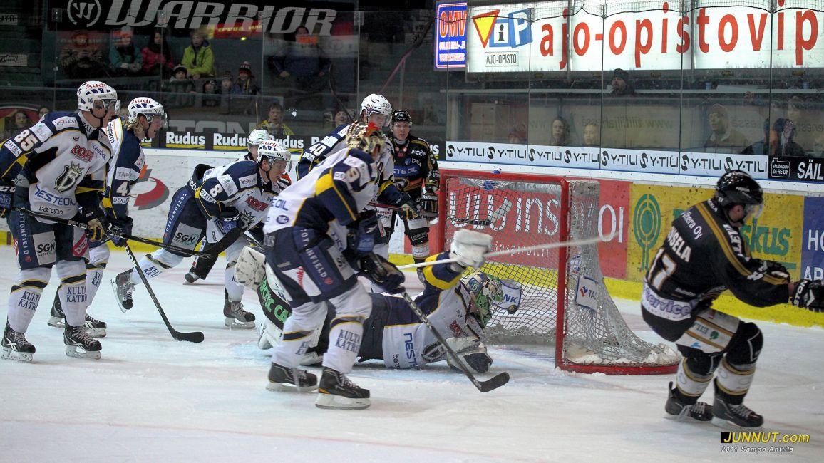 Kärpät - Blues 27.1.2011 SM-liigaa Oulussa
