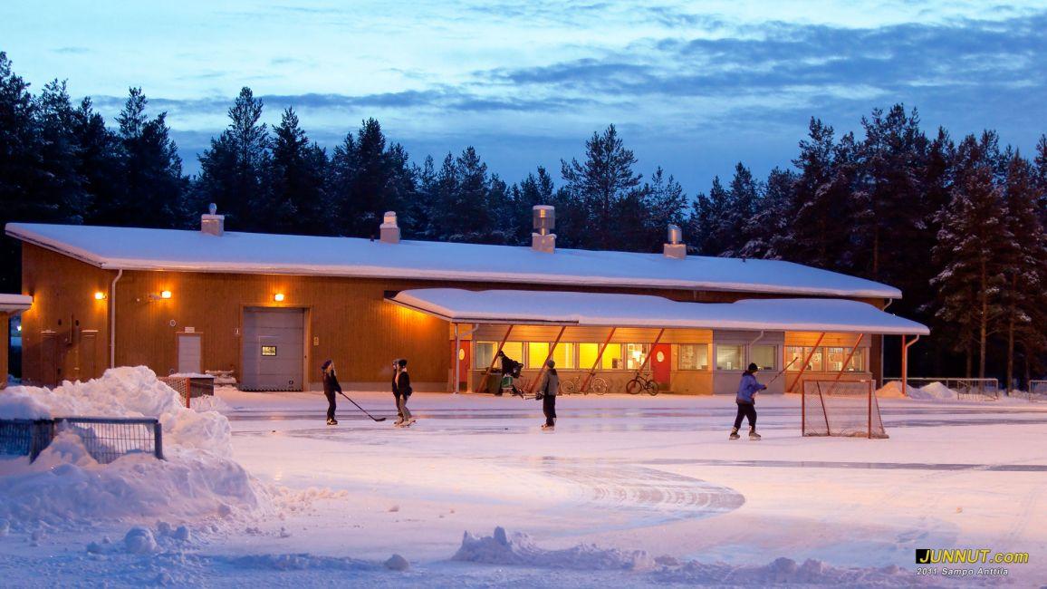 Talvikkipuiston urheilukeskus