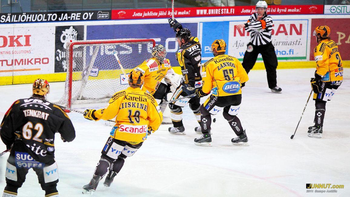 Ivan Huml, Oulun Kärpät 1 - 0, Kärpät - KalPa 15.2.2011