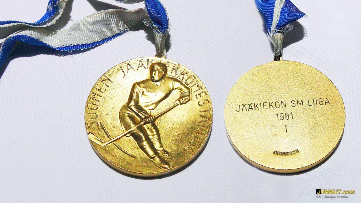 Vuoden 1981 jääkiekon SM-mitali