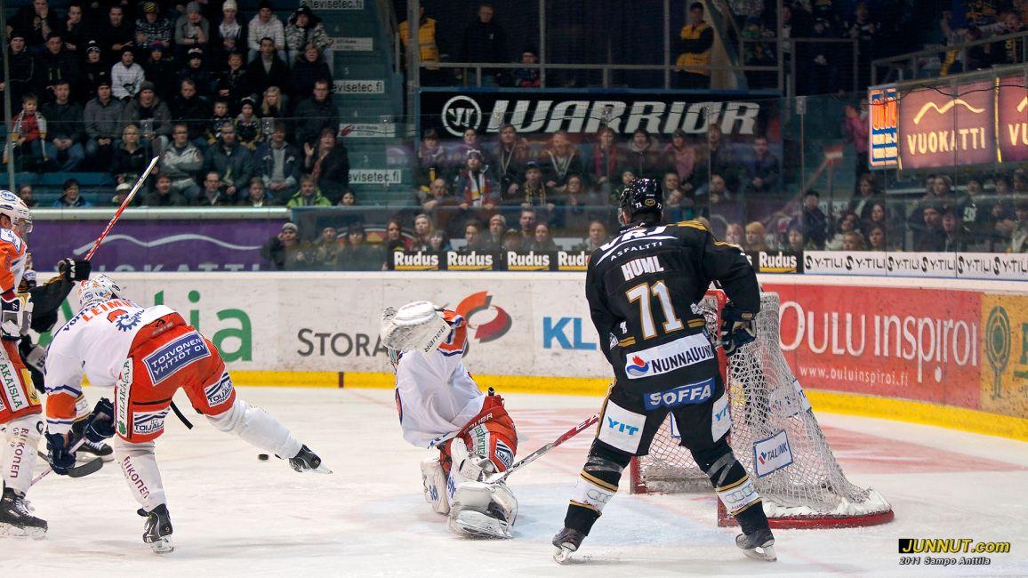 Ivan Huml, Oulun Kärpät - kaksi maalia Kärpät - Tappara 26.2.2011