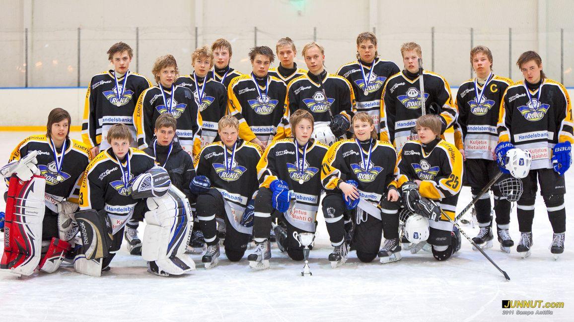 RoKi, joukkueelle hopeaa. Final Four C2 lopputurnaus 26.3.2011 SJL Pohjoinen