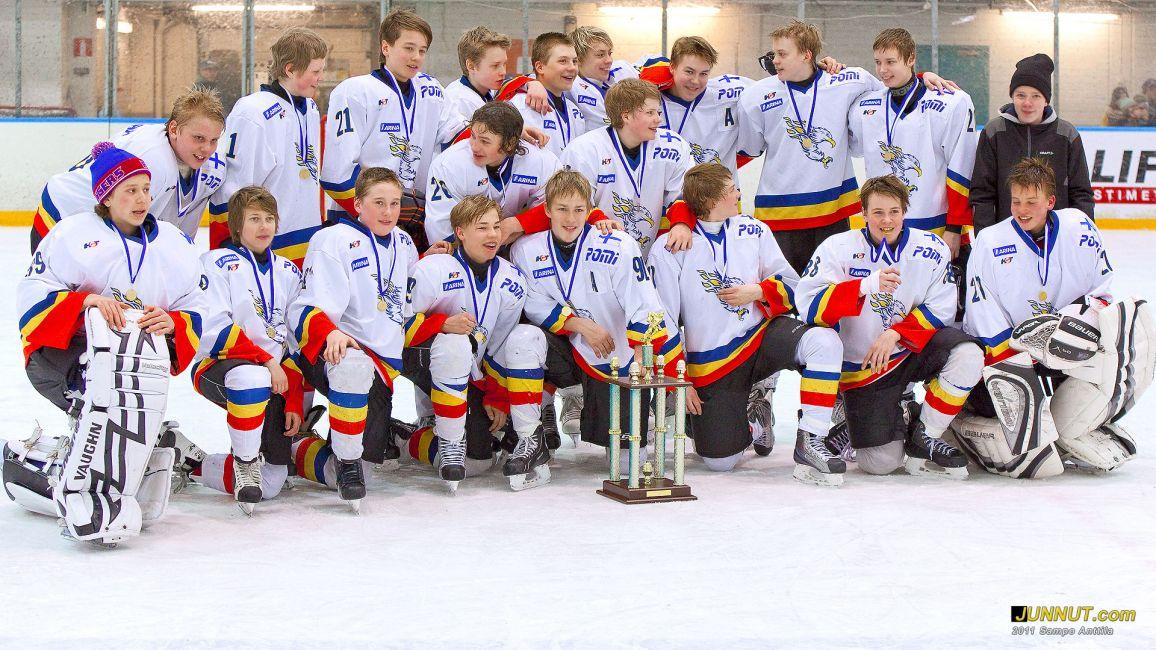Laser HT 96 joukkue voitti kultaa. Final Four C2 lopputurnaus 26.3.2011 SJL Pohjoinen
