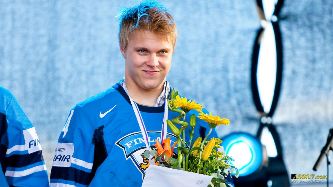 Mikael Granlund 25.5.2011, Oulussa yli 20 000 juhli jääkiekon 2011 MM-sankareita