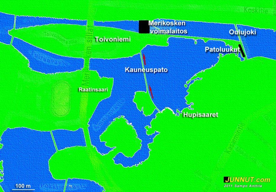 Oulujoen suistoalue, kauneuspato. 21.8.2011 JUNNUT.com