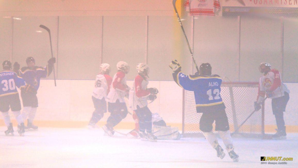 Sumussa pelattiin Blues - Jokerit C2-97, Stockmann-turnaus 19.8.2011