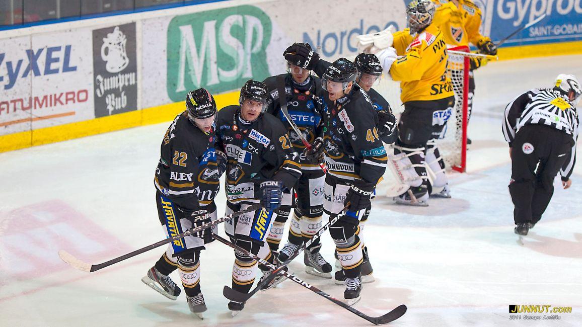 Kärpät - Kalpa SM-liigaa 30.9.2011 JUNNUT.com