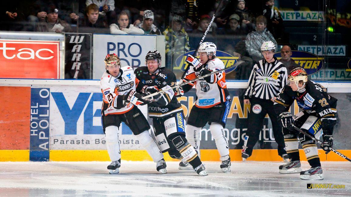 Kärpät - HPK 5.11.2011 SM-liiga. JUNNUT.com