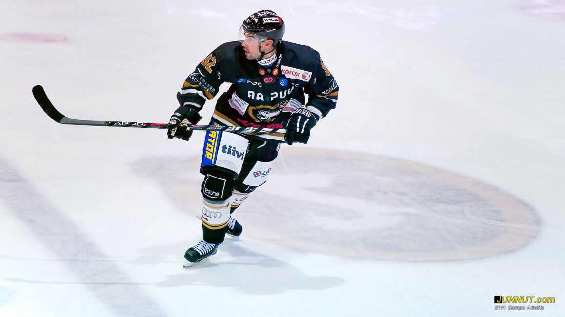 Jakub Sindel, Oulun Kärpät 27.12.2011. JUNNUT.com