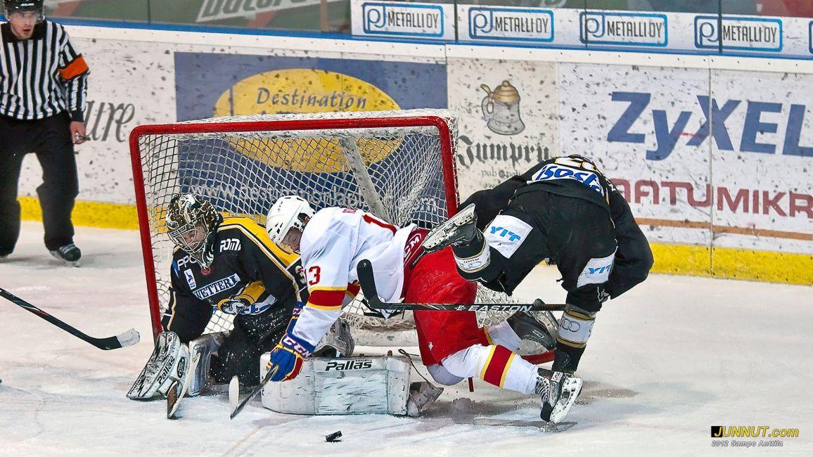Nuorten SM-liiga, Kärpät - Jokerit 14.1.2012