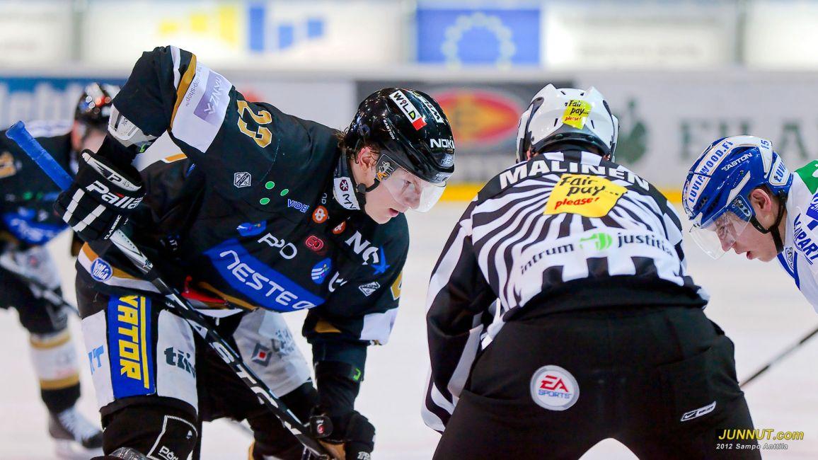 Kärpät - Lukko 31.1.2012 SM-liiga. JUNNUT.com