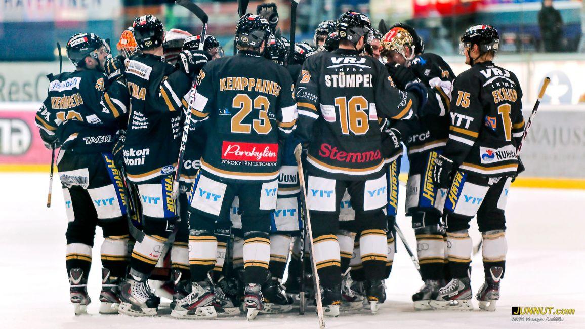 Oulun Kärpät SM-liigassa 2011 - 2012 - Joukkueen kokoonpano, JUNNUT.com