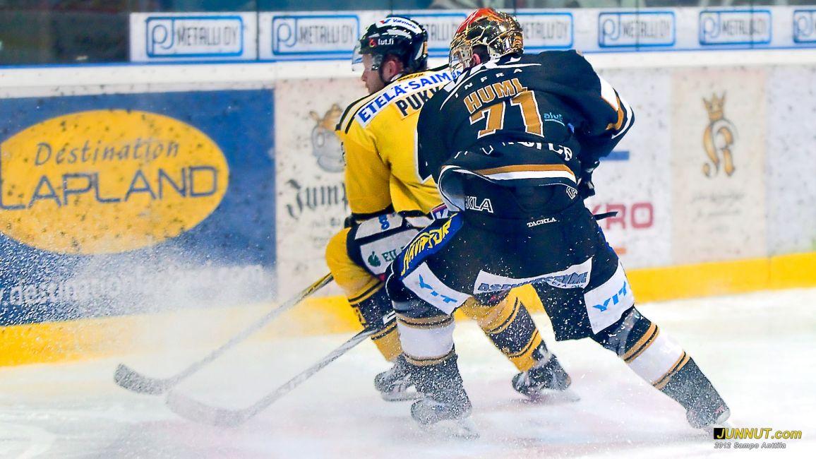 #71 Ivan Huml, Kärpät - SaiPa SM-liiga, 4.2.2012 JUNNUT.com
