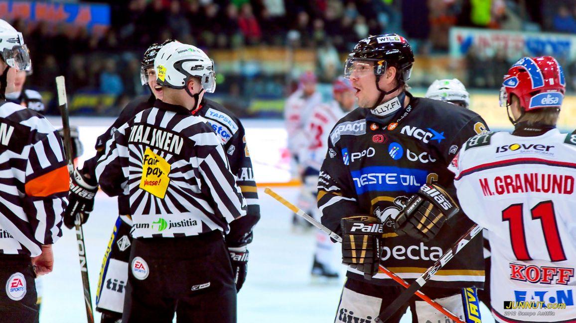 Kärpät - HIFK, SM-liiga 17.2.2012. JUNNUT.com