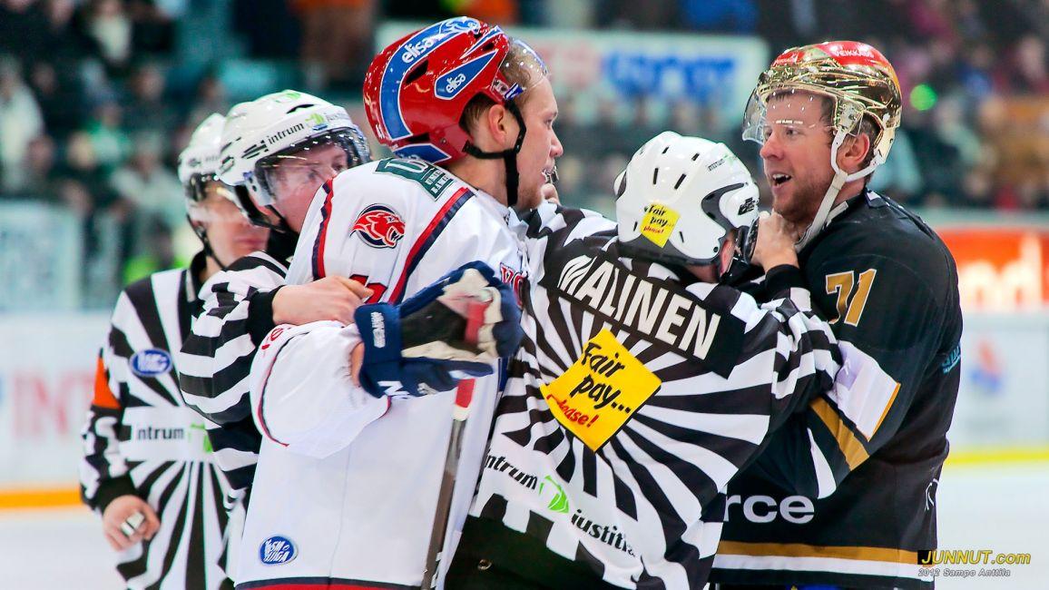 Kärpät - HIFK, SM-liigaa 17.2.2012 JUNNUT.com