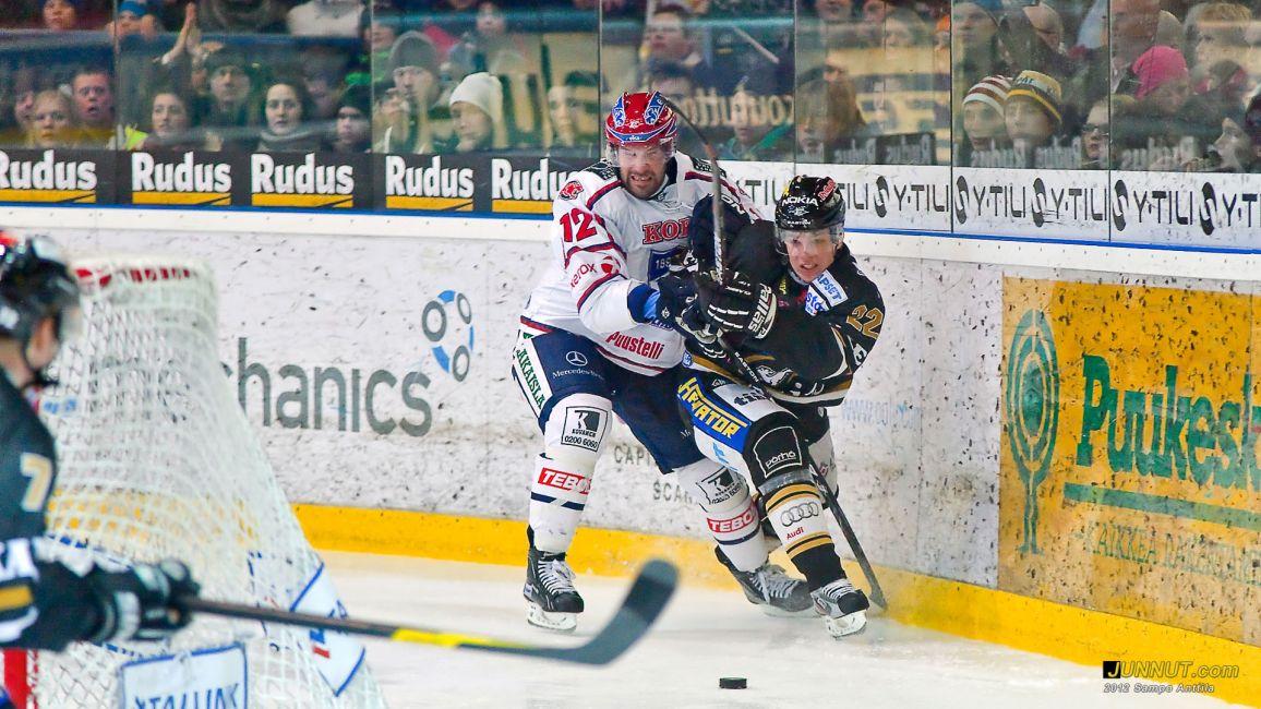 Kärpät - HIFK 17.2.2012 SM-liiga. JUNNUT.com
