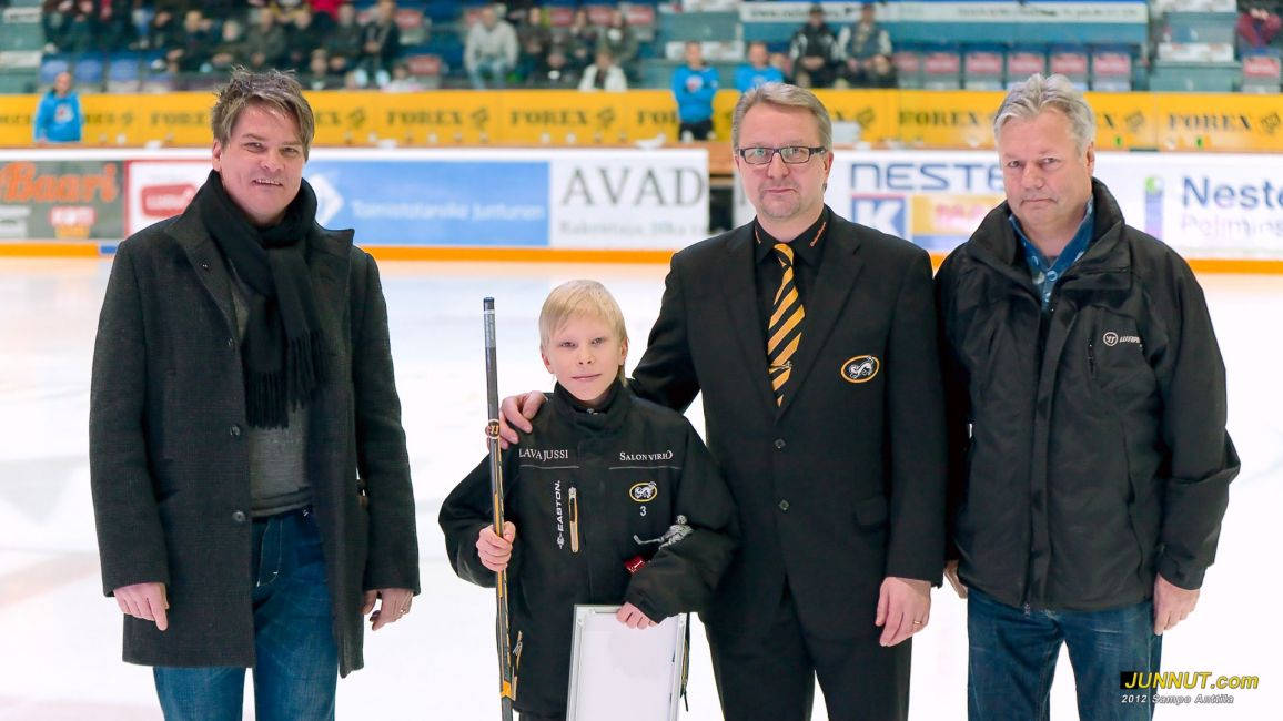 Markku Niemitalo, Jaakko Lappalainen, Mika Pieniniemi ja Reijo Liljeblad