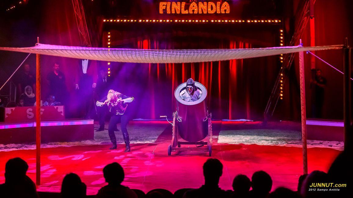 Bonbon & Tiina, Sirkus Finlandia 25.7.2012 JUNNUT.com