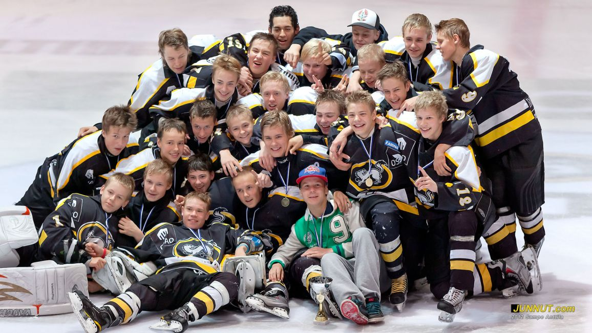 Oulun Kärpät C1, Stockmann turnaus 2012. JUNNUT.com