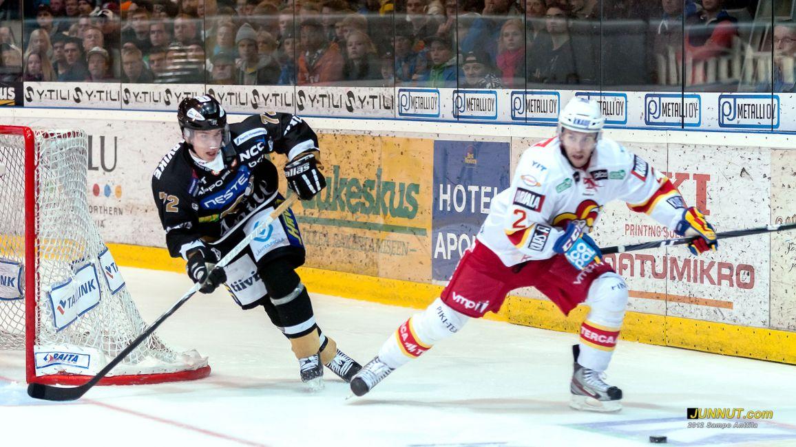 Joonas Donskoi, Oulun Kärpät pelaa kaudella 2012-2013 numerolla 72