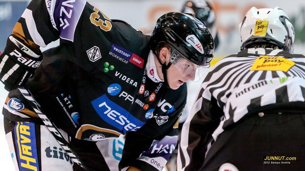 Joonas Kemppainen, Oulun Kärpät 2.10.2012
