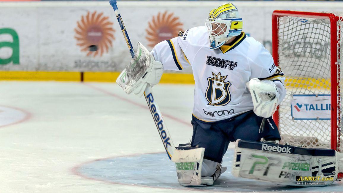 Maalivahti Juuso Riksman, Blues  20.10.2012