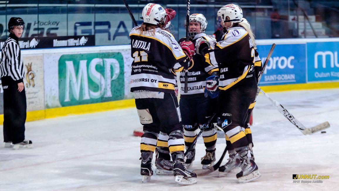 Kärpät - Salo HT 27.10.2012 Naisten SM-sarja, SJL