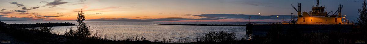 Hailuodon lauttaranta Oulunsalossa