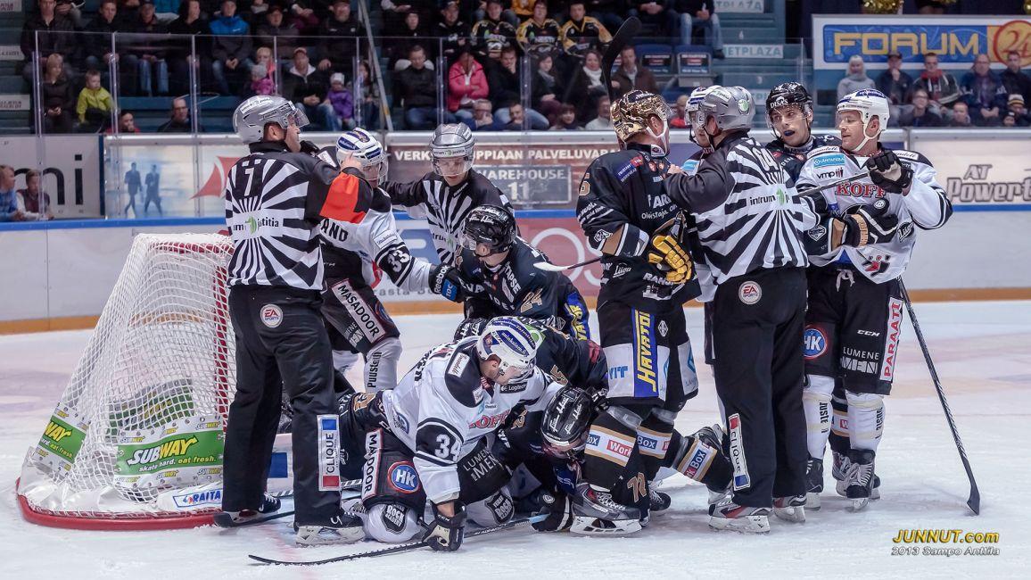 Kärpät - TPS Liigaa 21.9.2013