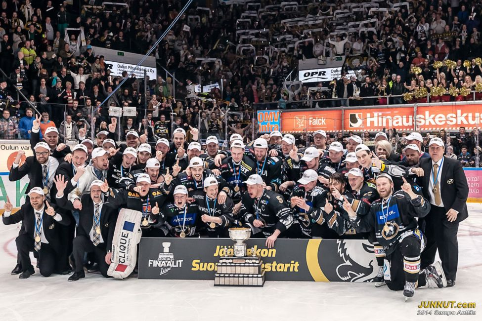 Oulun Kärpät, jääkiekon Suomen mestari 2014