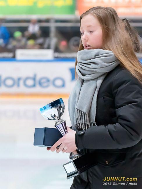Paras tulokas Ella Välikangas, Oulun Kärpät