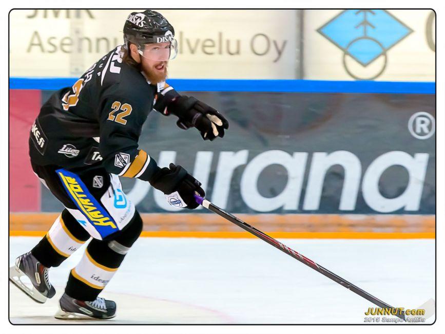 22 Lukas Kaspar, Oulun Kärpät