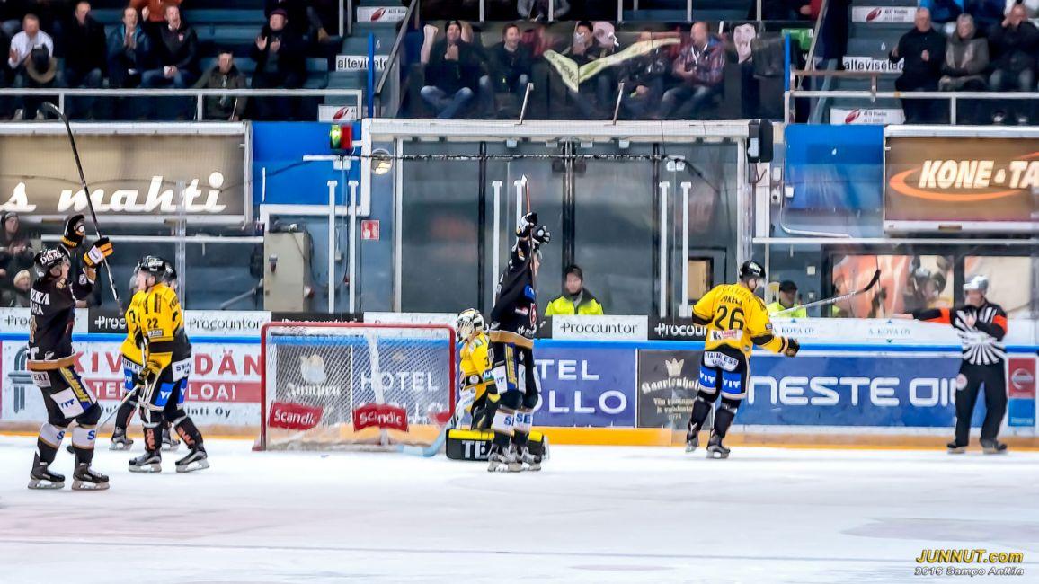 #9 Jesse Puljujärvi 1-0 (#17 Mika Pyörälä, #5 Lasse Kukkonen) YV