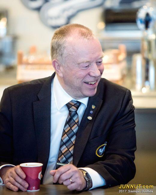Hallituksen varapuheenjohtaja Heikki Kontsas, Oulun Kärpät Oy