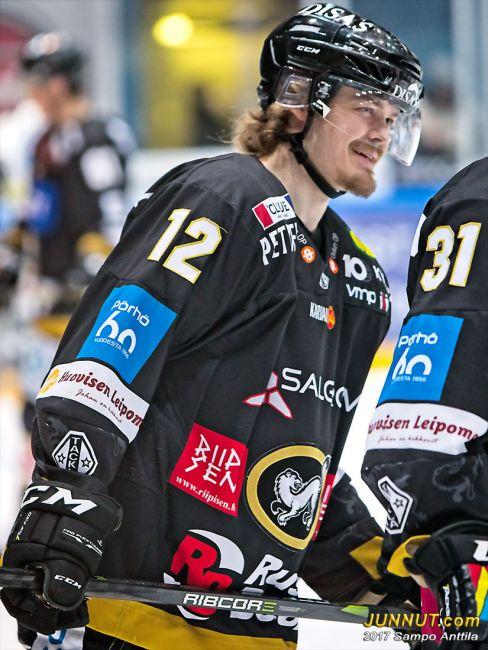Ville Leskinen, hyökkääjä Oulu Kärpät