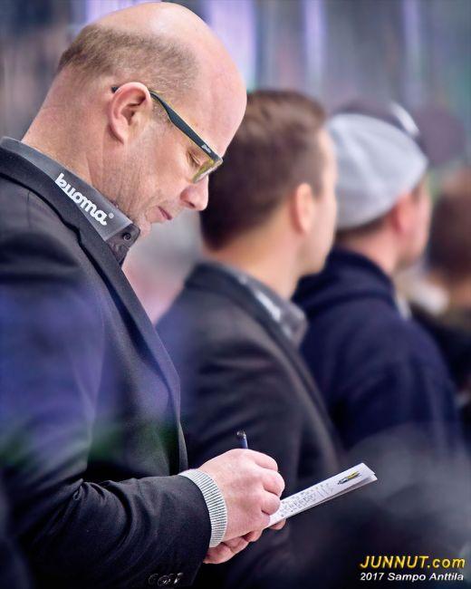 Risto Dufva, päävalmentaja Jukurit