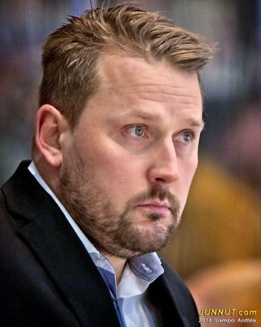 Päävalmentaja Antti Pennanen, HPK