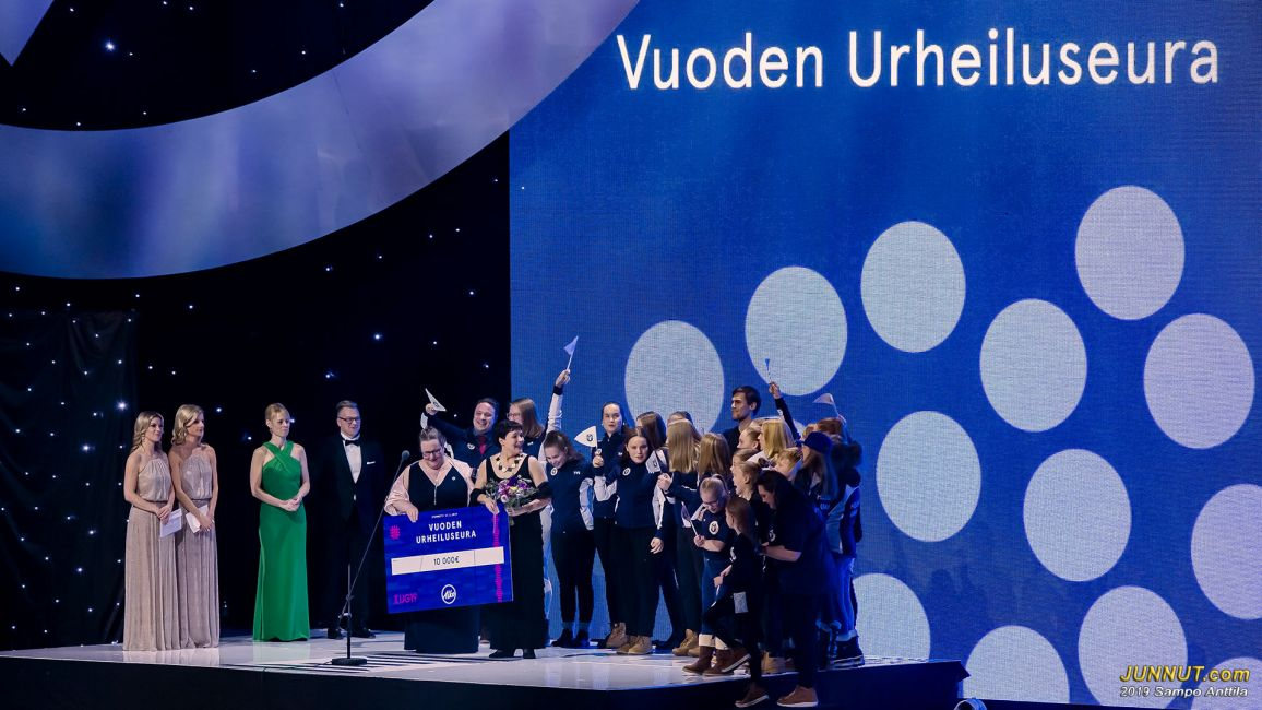 Vuoden urheiluseuraksi valittiin Helsingin Uimarit