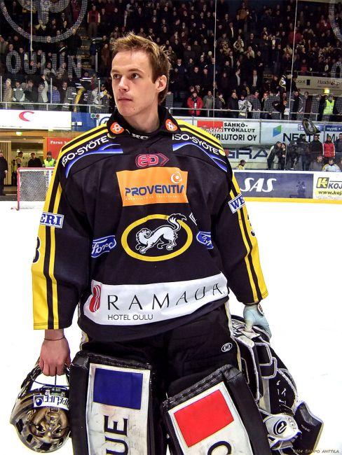 Pekka Rinne, Oulun Kärpät 13.3.2004