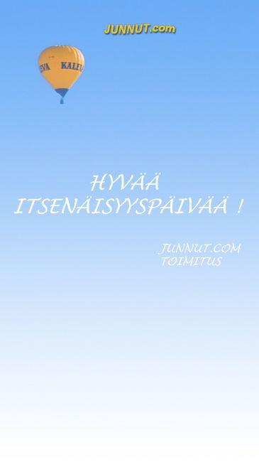www.junnu.com toimitus toivottaa hyvää itsenäisyyspäivää